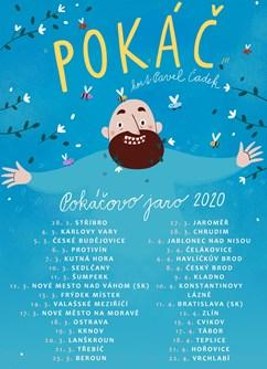 Pokáč- Pokáčovo jaro 2020- koncert k desce Úplně Levej- České Budějovice -K2, Sokolský ostrov 462/1,, České Budějovice