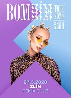 BOMBÍM TOUR - SIMA (SK)- koncert ve Zlíně -Fénix - Music Club, Antonínova 4379, Zlín