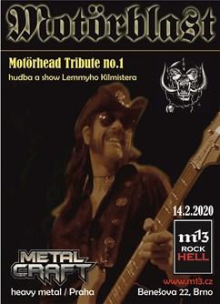Motörblast - no. 1 Motörhead Tribute- koncert v Brně -m13 rock hell, Benešova 22, Brno