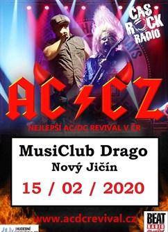 AC/CZ - (top AC/DC tribute show) - koncert v Novém Jičíně -MusiClub Drago, Hřbitovní 1097/24, Nový Jičín