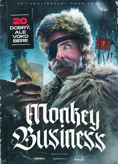 Monkey Business - 20 dobrý, ale voko bere- koncert v Jablunkově -Southock Rock Café, Bělá 1069, Jablunkov