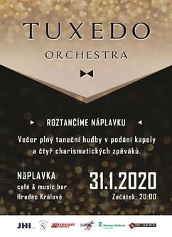 Tuxedo Orchestra- Hradec Králové -NáPLAVKA café & music bar, Náměstí 5.května 835, Hradec Králové