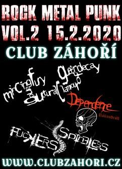 Rock - Metal - Punk Koncert Vol. 2 v Club Záhoří- Prostějov -Club Záhoří, Dr. Horáka 1344/19a, Prostějov