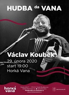 Václav Koubek ve Vaně- koncert České Budějovice -Horká Vana, Česká 7, České Budějovice