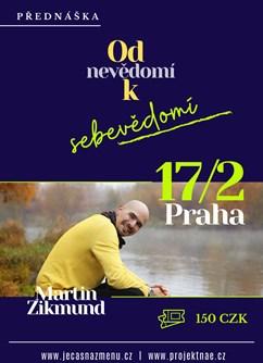 Přednáška: Od nevědomí k sebevědomí- Praha -Prostor39, Řehořova 33/39, Praha