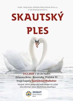 Skautský ples- Brno -Orlovna Bosonohy, Pražská 55, Brno