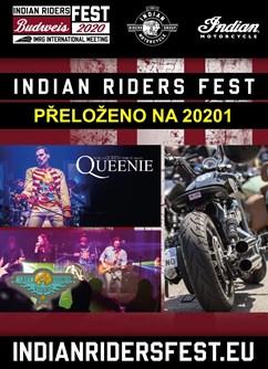 Indian Riders Fest 2020- České Budějovice- Queenie world Queen tribute band,  The Last Chance Riders -Výstaviště České Budějovice, Husova 523/30, České Budějovice