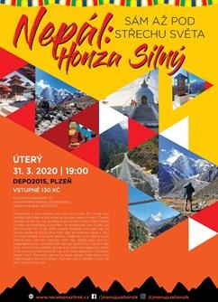 Honza Silný - Nepál: Sám až pod střechu světa (Plzeň)- Plzeň -DEPO2015, Presslova 14, Plzeň