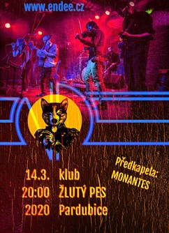 eNDee- Pardubice -Music Club Žlutý pes, Ke koupališti 62, Pardubice