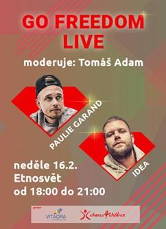 Go Freedom LIVE Paulie Garand a Idea- Praha -Etnosvět, Legerova 40, Praha