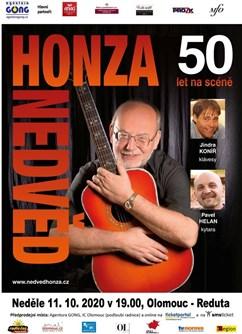 Honza Nedvěd - oslaví 50 !!! let na pódiu- koncert v Olomouci -Reduta, Horní náměstí 23, Olomouc