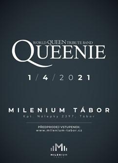Koncert Queenie- Tábor -Milenium Tábor, Kpt. Nálepky 2397, Tábor