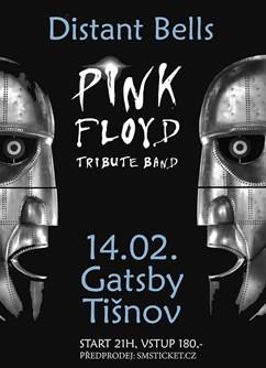 Distant Bells - Pink Floyd Revival Brno- koncert Tišnov -Gatsby music bar, Červený Mlýn 380, Tišnov