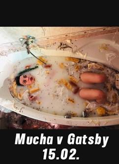 Mucha v Gatsby- Tišnov -Gatsby music bar, Červený Mlýn 380, Tišnov