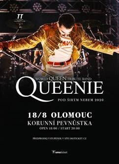 Koncert Queenie pod širým nebem 2020- Olomouc -Korunní pevnůstka, Třída 17. listopadu 7, Olomouc