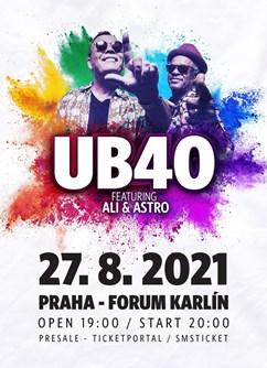 UB40- Praha -Forum Karlín, Pernerova 51-53, Praha