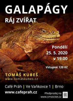 Galapágy – ráj zvířat – Brno- Brno -Café Práh, Ve Vaňkovce 1, Brno