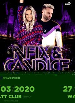 NFIX & Candice ve WATTu (Brno)- Brno -Watt Club, Jánská 14, Brno