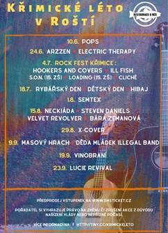 Křimické léto v Roští: Děda Mládek Illegal Band,Masový Hrach- Plzeň -Restaurace U Mže, Zamecká 5, Plzeň