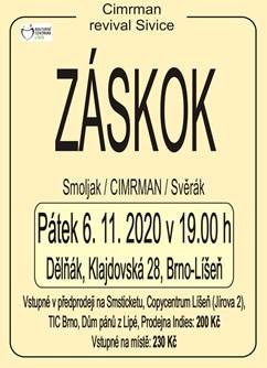 Cimrman revival Sivice: Záskok- Brno -Dělňák Líšeň, Klajdovská 28, Brno – Líšeň, Brno