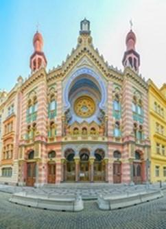 Slavné filmové melodie 3- Praha -Jeruzalémská (Jubilejní) synagoga, Jeruzalémská 7, Praha