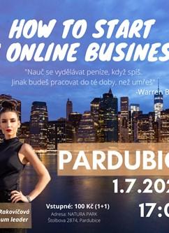 How to start an online business?- Pardubice -Natura park, Åtolbova 2874, Pardubice