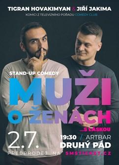Stand Up Comedy - Muži o ženách (repríza)- Brno -ArtBar Druhý Pád, Štefánikova 836/1, Brno