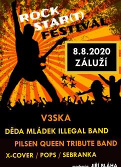 Rock Star(t) festival- Třemošná -Sportovní areál v luhu Záluží, Silnice II/180, Třemošná