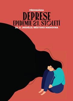 Deprese – epidemie 21. století - Praha -Městská Knihovna v Praze, Mariánské náměstí 1, Praha