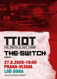 The.Switch + TTIOT na lodi na Vltavě- koncert v Praze -Loď Odra, Rašínovo nábřeží, Praha