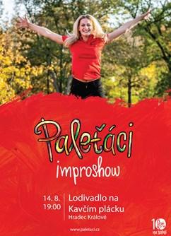 Paleťáci - Improshow- Hradec Králové -Lodivadlo - Boatheatre, z.s., Kavčí plácek, Hradec Králové