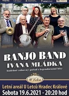 Banjo Band Ivana Mládka- Hradec Králové -Letní areál U Letců, Jana Černého 109, Hradec Králové