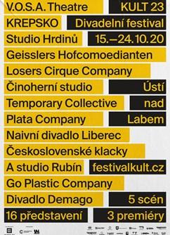 A studio Rubín: Burnout aneb Vyhoř!- Ústí nad Labem -Činoherní studio, Varšavská 767, Ústí nad Labem