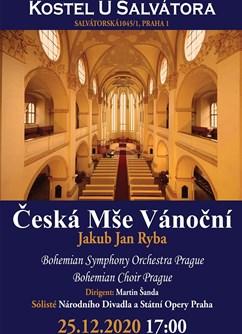 Vánoční koncert v centru Prahy- Praha -Kostel sv. Salvátora, Salvátorská 1, Praha