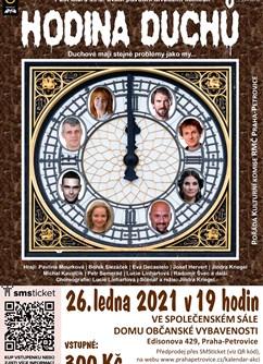Hodina duchů- Praha -Společenský sál DOV, Praha-Petrovice, Edisonova 429/28, Praha