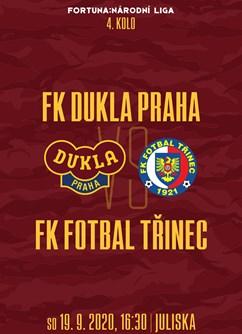 FK Dukla Praha - FK Fotbal Třinec- Praha -FK Dukla Praha, Na Julisce 28/2, Praha