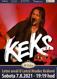 KEKS Live 2021- koncert v Hradci Králové -Letní areál U Letců, Jana Černého 109, Hradec Králové