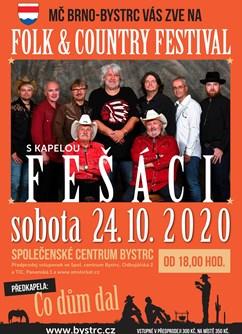 Folk & Country festival- Brno -Společenské centrum Bystrc, Odbojářská 2, Brno