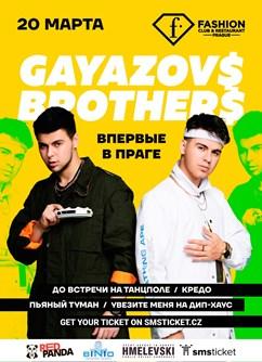 Gayazovs Brothers in Prague- Praha -Fashion Club & Restaurant Prague, Náměstí Republiky 8, Praha