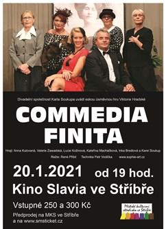 Commedia Finita- Stříbro -Kino Slavia, Benešova 587, Stříbro