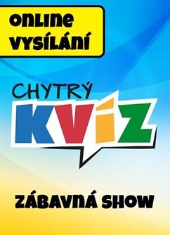 Zábavná KVÍZ SHOW- Online -Chytrý kvíz.cz, celá ČR, Online