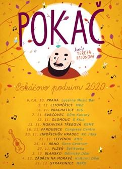 Koncert Pokáč- Blansko -Dělnický dům, Hybešova 1, Blansko
