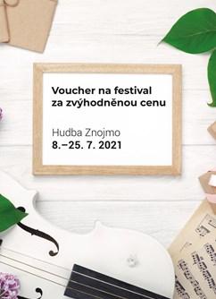 Poukaz na Hudební festival Znojmo 2021- Znojmo -Znojmo a okolí, Znojmo, Znojmo