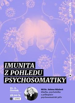 Webinář: Imunita z pohledu psychosomatiky- Online -Live stream, přenos, Online