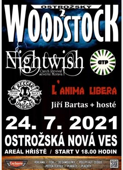 Ostrožský Woodstock- Ostrožská Nová Ves -Areál hřiště, Kunovská 554, Ostrožská Nová Ves