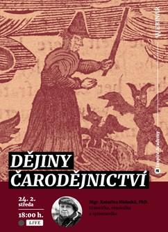 Webinář: Dějiny čarodějnictví- Online -Live stream, přenos, Online