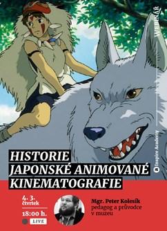 Webinář: Historie japonské animované kinematografie- Online -Live stream, přenos, Online