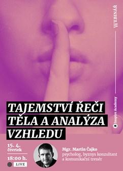 Webinář: Tajemství řeči těla a analýza vzhledu- Online -Live Stream - Havex, z Havex Auto, Online