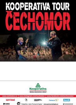 Čechomor- koncert Šternberk -Areál Státního hradu Šternberk, Horní náměstí , Šternberk