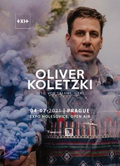 Oliver Koletzki [Ger] / Open Air- Praha -Výstaviště Praha, areál Výstaviště 67, Praha